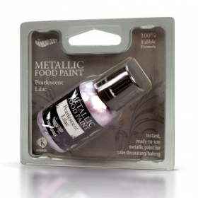 Lilla (pearlescent lilac), metallikläikega värv, 25ml