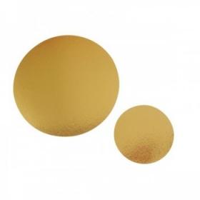 Ümmargune tordialus 20cmx1,1mm, kuldne