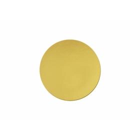 Kuld/hõbedane tordipapp, ümar, 26cm