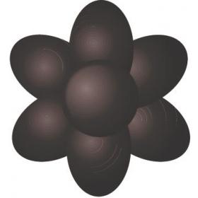 Ekstra must pastavärv (Black Extra), Sugarflair, 42g