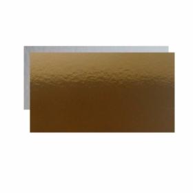 Kuld-hõbe tordipapp, 10x20cm