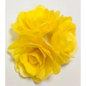 Vahvlilill - kollane keskmine roos, 6tk