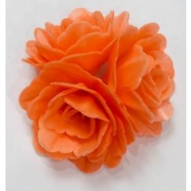 Vahvlilill - oranž keskmine roos, 6tk