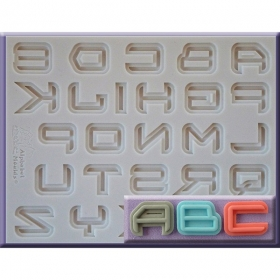 "Tähestiku vorm ""Science-fiction font"", Alphabet Moulds"