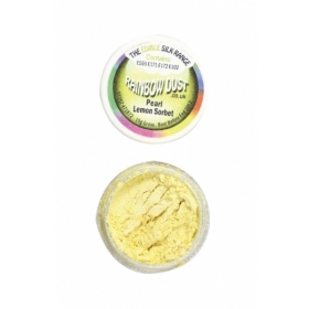 Pärlmutter sidrunikollane pulbervärv (lemon sorbet) 3g, Rainbow Dust