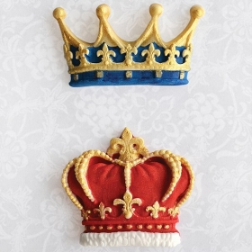 Kroonid (crowns), silikoonvorm, Katy Sue