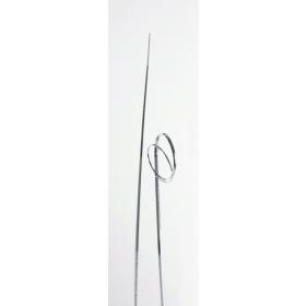 Karuhein kunstmaterjalist, hõbedane, 50tk