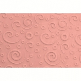 Mustrirull, keerise muster (retro swirl), 16,5cm FMM