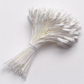 Tolmukad, 144tk, valged (liilia)