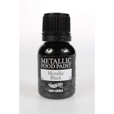 Must metallikläikega värv 25ml, Rainbow Dust