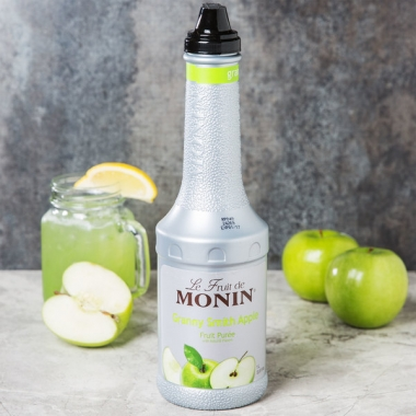 Rohelise õuna püree (granny smith apple) 1l, MONIN