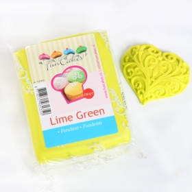 Laimiroheline (lime green) suhkrumass, 250g, Fun Cakes