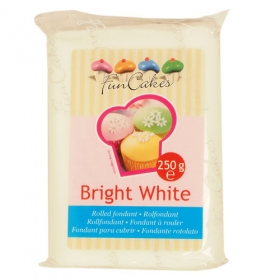 Lumivalge suhkrumass Bright White, 250g Fun Cakes